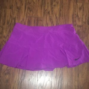 Women's athletic skirt.
